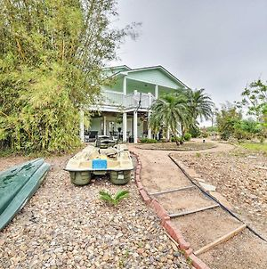 The Salty Lime 1 Canalfront Home With Dock And Kayak! photos Exterior