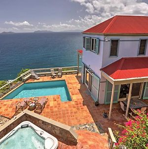 St Thomas Cliffside Chalet With Pool And Hot Tub! photos Exterior