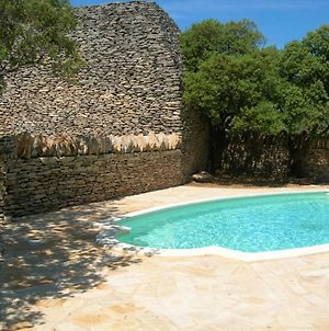 Villa With 3 Bedrooms In Gordes With Wonderful Mountain View Private Pool Furnished Garden 54 Km From The Slopes photos Exterior