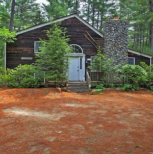 Inviting North Conway Cabin 3 Mi To Cranmore Mtn! photos Exterior