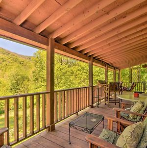 Enchanting Cabin With Mtn Views And Creekside Trail! photos Exterior