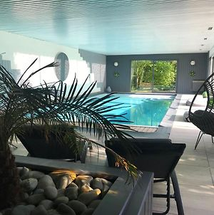 Villa With 4 Bedrooms In Guipry With Indoor Pool Enclosed Garden And Wifi 90 Km From The Beach photos Exterior