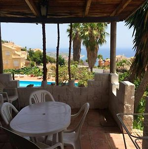 House With 3 Bedrooms In Salobrena, With Wonderful Sea View, Shared Pool, Furnished Terrace - 2 Km From The Beach photos Exterior