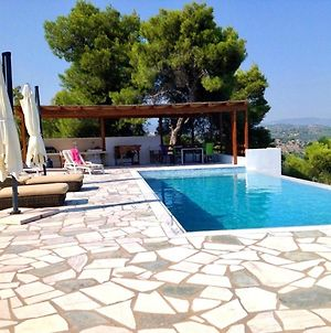 Villa With 5 Bedrooms In Porto Heli With Wonderful Sea View Private Pool Enclosed Garden 1 Km From The Beach photos Exterior
