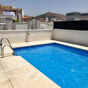 Studio In Malaga With Wonderful City View Shared Pool Terrace 1 Km From The Beach photos Exterior