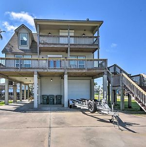 Galveston Home On Canal With Private Dock! photos Exterior