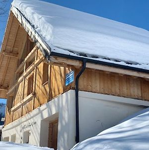 Chalet With 4 Bedrooms In Les Avanchers Valmorel With Wonderful Mountain View And Furnished Garden 7 Km From The Slopes photos Exterior