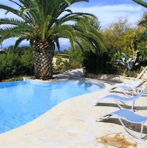 Studio In Cagnes-Sur-Mer, With Wonderful Sea View, Pool Access, Enclos photos Exterior