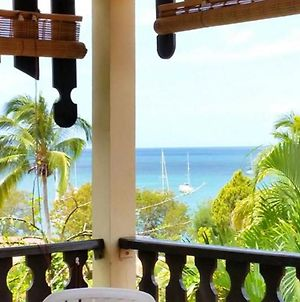 Studio In Sainte-Anne, With Wonderful Sea View, Furnished Terrace And Wifi - 100 M From The Beach photos Exterior