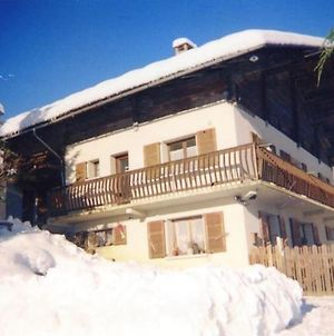 Apartment With 3 Bedrooms In Hauteluce With Wonderful Mountain View Furnished Terrace And Wifi 700 M From The Slopes photos Exterior