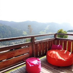 Chalet With 5 Bedrooms In Les Gets With Wonderful Mountain View Furnished Garden And Wifi photos Exterior
