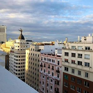 Studio In Madrid, With Wonderful City View, Furnished Terrace And Wifi photos Exterior