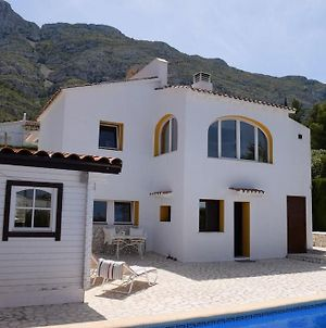 Villa With 4 Bedrooms In Denia, With Wonderful Sea View, Private Pool, Furnished Terrace - 4 Km From photos Exterior