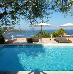 Villa With 4 Bedrooms In Saintraphael With Wonderful Sea View Private Pool Enclosed Garden 2 Km From The Beach photos Exterior
