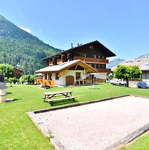 Apartment With One Bedroom In La Chapelle D'Abondance With Wonderful Mountain View And Furnished Garden 200 M From The Slopes photos Exterior