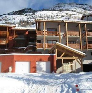 Studio In Vars With Wonderful Mountain View And Furnished Balcony photos Exterior