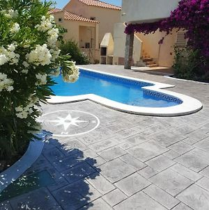 Villa With 5 Bedrooms In Calafat With Wonderful Sea View Private Pool Furnished Garden 200 M From The Beach photos Exterior