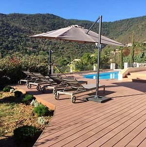 Villa With 5 Bedrooms In Rayol Canadel Sur Mer With Wonderful Mountain View Private Pool Enclosed Garden 250 M From The Beach photos Exterior