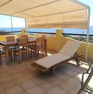 Villa With 3 Bedrooms In Magomadas With Wonderful Sea View Terrace And Wifi 10 M From The Beach photos Exterior
