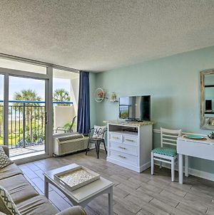Cozy Resort-Style Condo With Oceanfront Balcony! photos Exterior