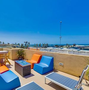 Ocean View! Steps To Sand, Beach Volleyball Courts, Ac, Roof Deck, Bikes, Private Home! photos Exterior