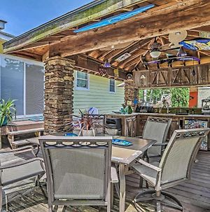Nautical Ocean Isle Beach Cottage With Outdoor Space! photos Exterior
