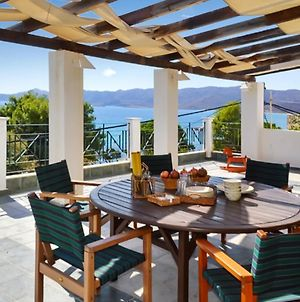 Villa With 4 Bedrooms In Karistos With Wonderful Sea View Enclosed Garden And Wifi 10 M From The Beach photos Exterior