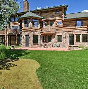 Fairplay Log Cabin With Deck 26 Mi To Breck! photos Exterior