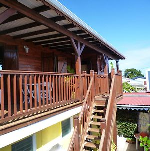 Chalet With One Bedroom In Le Moule With Furnished Terrace And Wifi 3 Km From The Beach photos Exterior