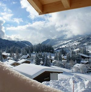 Apartment With One Bedroom In Les Gets With Wonderful Mountain View Furnished Garden And Wifi 50 M From The Slopes photos Exterior