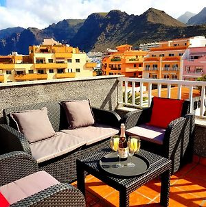 Apartment With 2 Bedrooms In Puerto De Santiago With Wonderful Mountain View Furnished Terrace And Wifi 900 M From The Beach photos Exterior