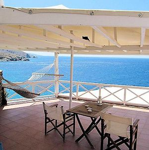 Apartment With One Bedroom In Ormos Kardianis With Wonderful Sea View Furnished Terrace And Wifi 60 M From The Beach photos Exterior