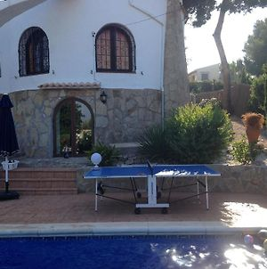 Villa With 4 Bedrooms In Javea, With Private Pool, Enclosed Garden And Wifi - 7 Km From The Beach photos Exterior