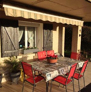 Apartment With One Bedroom In Saint Victor De Cessieu With Wonderful City View Furnished Terrace And Wifi photos Exterior