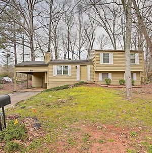 Quiet And Convenient Home 6 Mi To Stone Mtn! photos Exterior