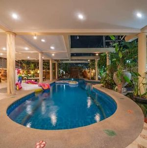 Jomtien Beach 500M,Luxury Thai Style ,Pool Villa,Bbq,#118 photos Exterior