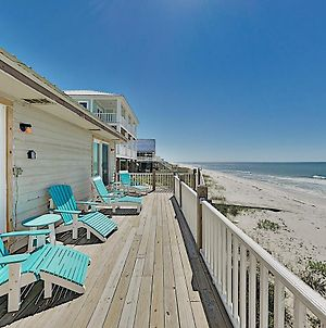 Sun Kissed East: Beachfront Retreat W/ Sunny Deck Duplex photos Exterior