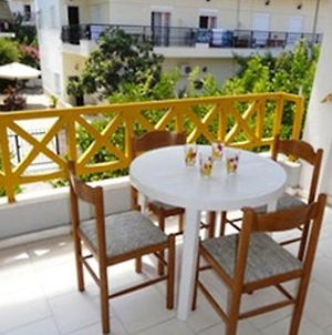 Apartment With One Bedroom In Χανιώτης, With Wonderful Sea View, Balcony And Wifi photos Exterior