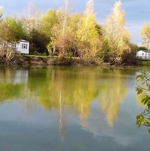 Bungalow With 2 Bedrooms In Saint-Hilaire-Sous-Romilly, With Wonderful Lake View, Private Pool And Enclosed Garden photos Exterior