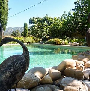 House With 2 Bedrooms In Oppede With Wonderful Mountain View Pool Access Furnished Garden 60 Km From The Beach photos Exterior