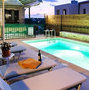 Villa With 3 Bedrooms In Rethymno With Private Pool Furnished Terrace And Wifi 2 Km From The Beach photos Exterior