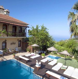 Villa With 6 Bedrooms In Fethiye With Wonderful Sea View Private Pool Enclosed Garden 2 Km From The Beach photos Exterior