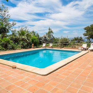 Villa With 3 Bedrooms In Malaga With Wonderful Sea View Private Pool And Wifi 6 Km From The Beach photos Exterior