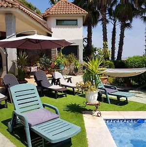 Villa With 5 Bedrooms In Santa Amalia With Wonderful Mountain View Private Pool Enclosed Garden photos Exterior