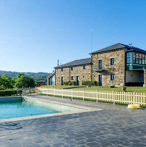 Villa With 9 Bedrooms In Outeiro San Sadurnino De Ferrol Terra With Wonderful Mountain View Private Pool Terrace 22 Km From The Beach photos Exterior