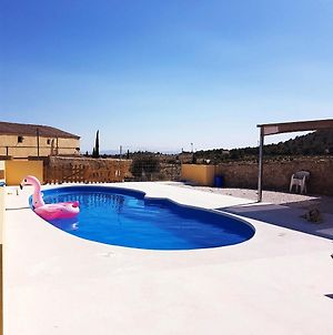 Villa With 4 Bedrooms In Zarzadilla De Totana With Wonderful Mountain View Private Pool Enclosed Garden 60 Km From The Beach photos Exterior