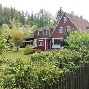 Beautiful Semi-Detached House In The Harz With Wood Stove, Garden And Direct River Access photos Exterior