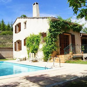 Villa With 3 Bedrooms In Riez With Private Pool Furnished Terrace And Wifi photos Exterior