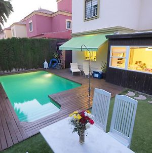 Villa With 4 Bedrooms In Tomares With Private Pool Enclosed Garden And Wifi photos Exterior