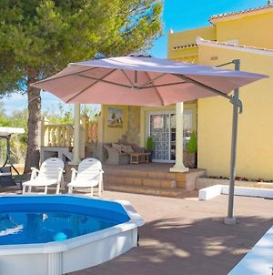 Villa With 3 Bedrooms In Denia With Wonderful Sea View Private Pool Enclosed Garden 100 M From The Beach photos Exterior